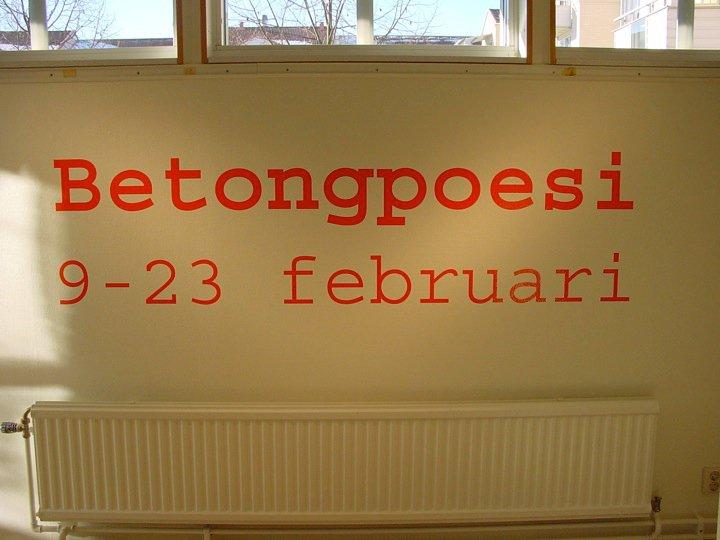 BetongPoesi 2003